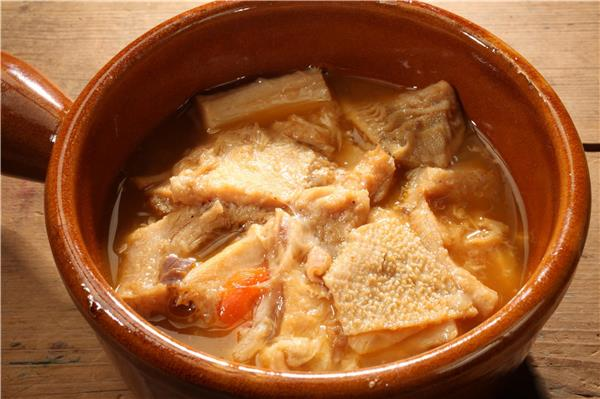 Tripoux - Dish of Sheep´s offal and Sheep´s feet