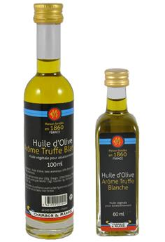 Preparation with Flavored Olive Oil (White truffle flavor)