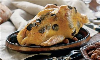 Truffled capon