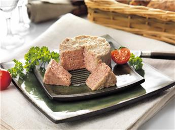Duck Rillettes with Smoked Duck Magret